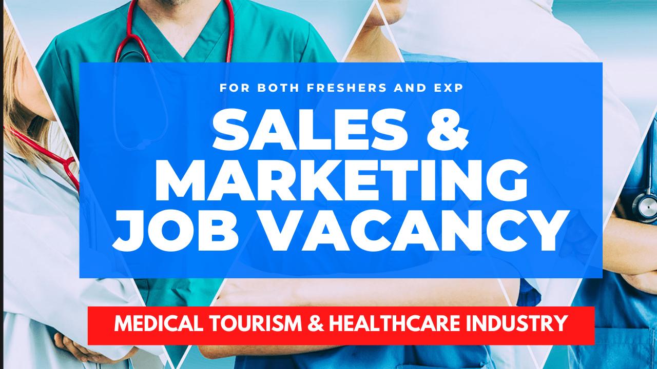 Sales and marketing job vacancy for freshers in kolkata