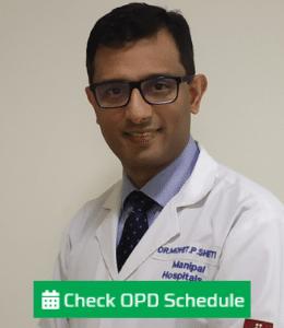 Dr. Mohit P Shetty - Manipal Hospital, Bangalore