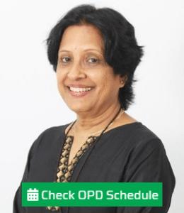 Dr. Nalini Rao - HCG Oncology Hospital