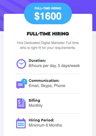 Full Time Hiring