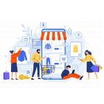 Online Ecommerce Websites Marketing