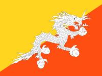 Bhutan Flags to represent medical tourism consultation Bhutan patients