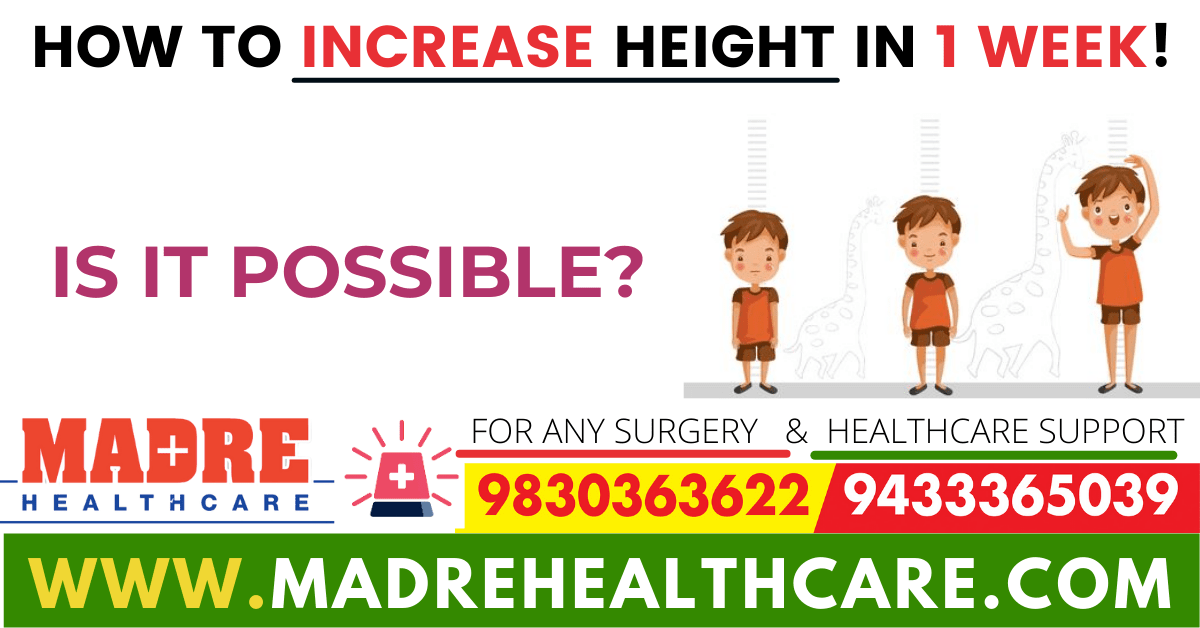 How to Increase Height in 1 Week!-min