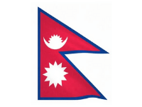 Nepal Flags to represent medical tourism consultation for Nepal patients-min